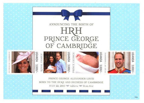 Announcing the Birth of HRH Prince George of Cambridge: July 22,2013