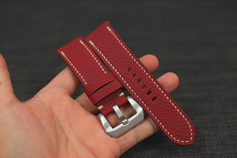 how to clean a leather watch band