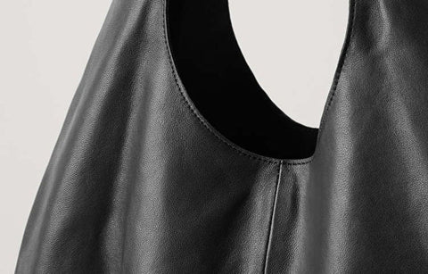 leather trend 2021 soft gathered leather