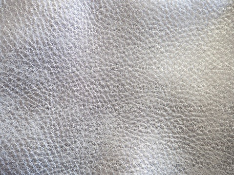 leather trends 2021 metalic silver glossy leather