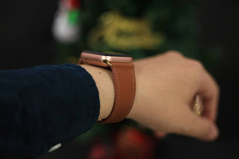 leather watch band for apple watch