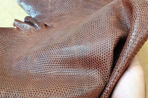 lizard leather care cleaning
