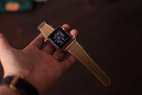 apple watch leather straps