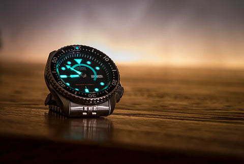 watch lume color guide watch strap