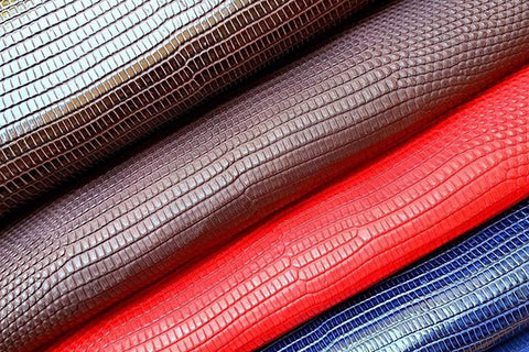 what is lizard leather