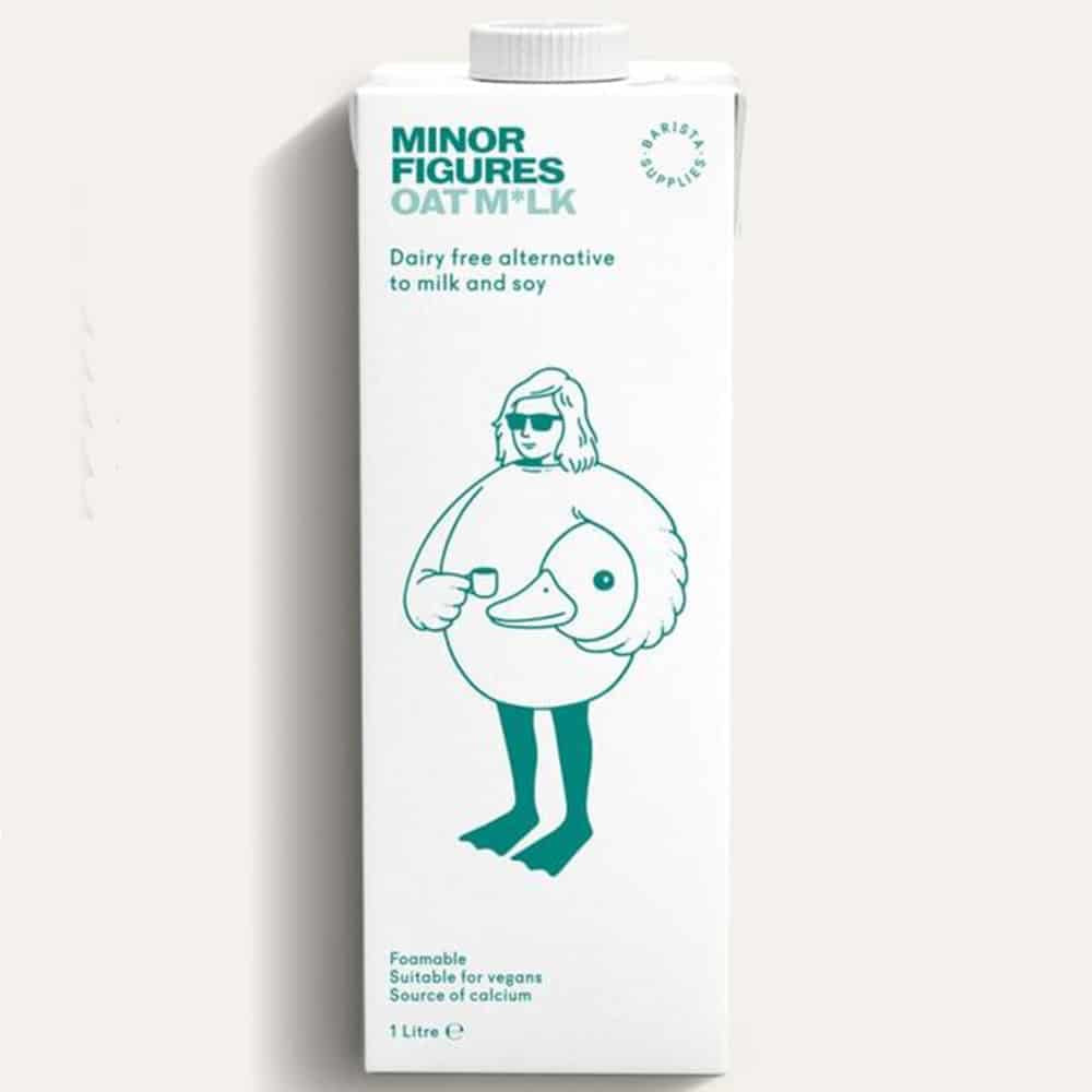 Lait d'avoine pour Barista «Minor Figures»