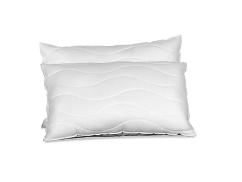 Luxury Memory Flake Pillows Deal Set
