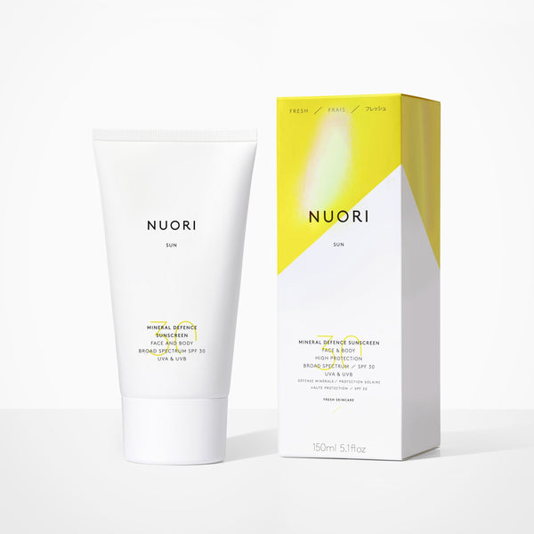 Mineral Defence Face and Body Skincare NUORI
