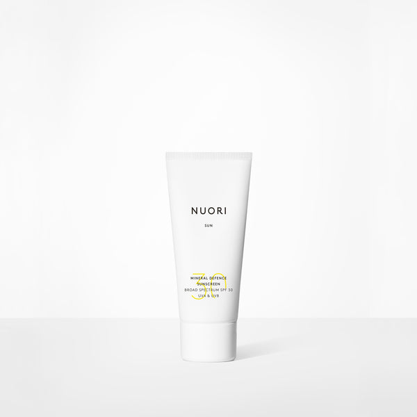 Mineral Defence Sunscreen Skincare Nuori 50ml