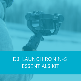 DJI launches Ronin-S Essentials Kit