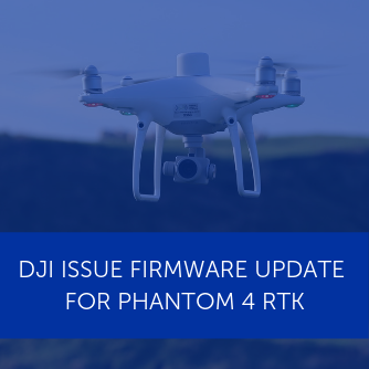 Firmware update for DJI Phantom 4 RTK