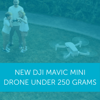 New DJI Mavic Mini Drone Under 250g And Exempt From UK and USA Registration