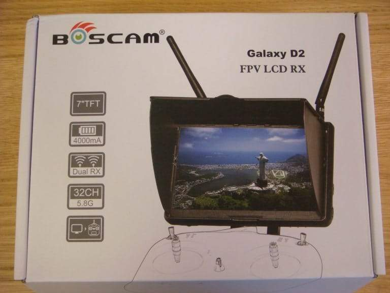 Boscam Galaxy D2 FPV Monitor Review