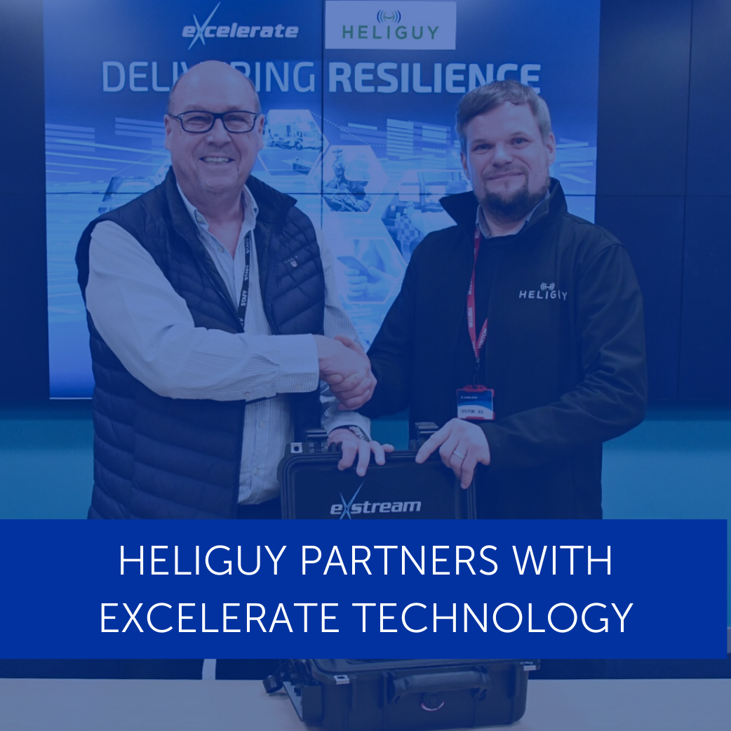 Heliguy Partners with Excelerate Technology