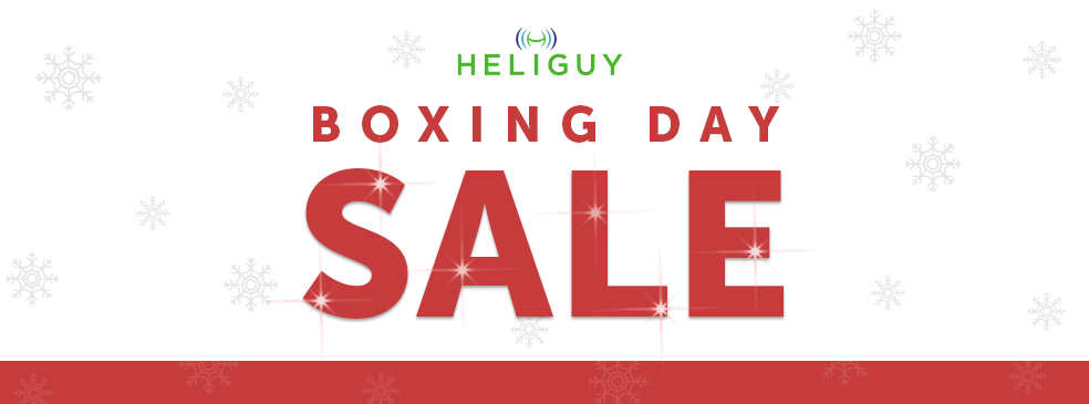 Boxing Day Deals from Heliguy