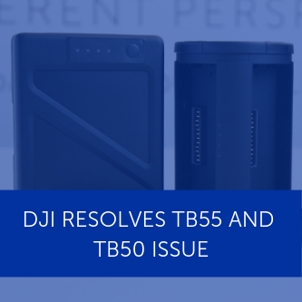 DJI has 'successfully addressed' TB50 and TB55 battery issue