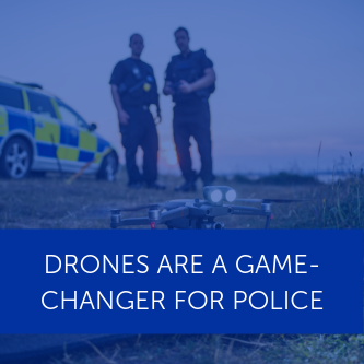 Drones a game-changer, say police