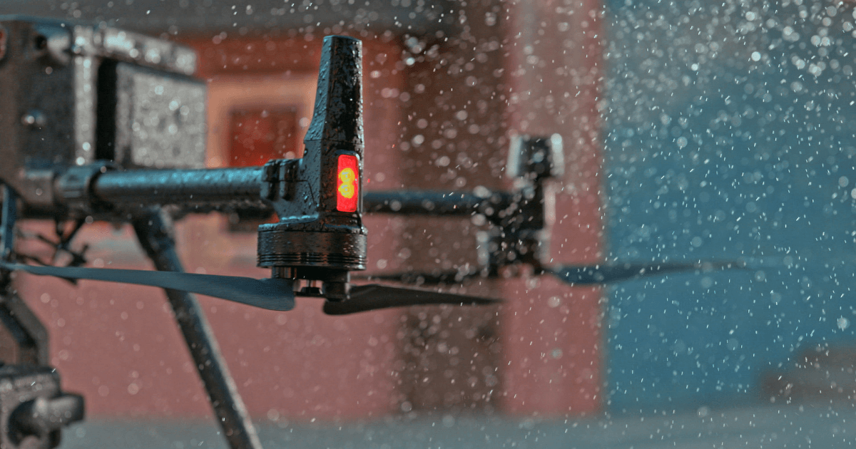 How Waterproof Is The DJI M300 RTK Drone?