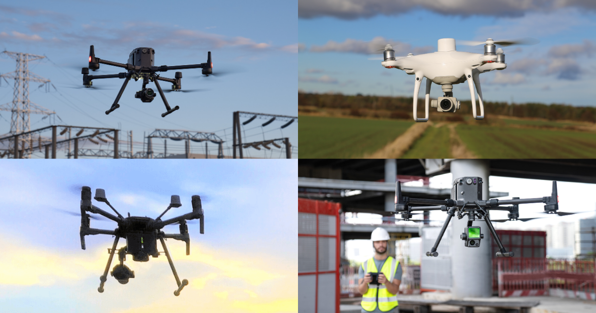 Best DJI Drones For Surveying