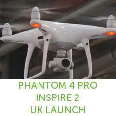 Control \ Create - DJI Inspire 2 and Phantom 4 Pro UK Launch Event