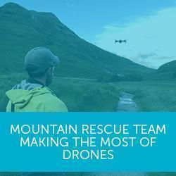 Drones are 'invaluable tool' for Scotland's busiest mountain-rescue team