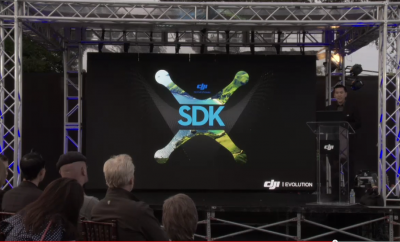 A Masterstroke From DJI @ 3D Robotics = SDK released!
