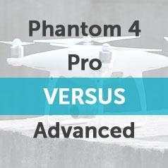 DJI Phantom 4 Advanced VERSUS Phantom 4 Pro