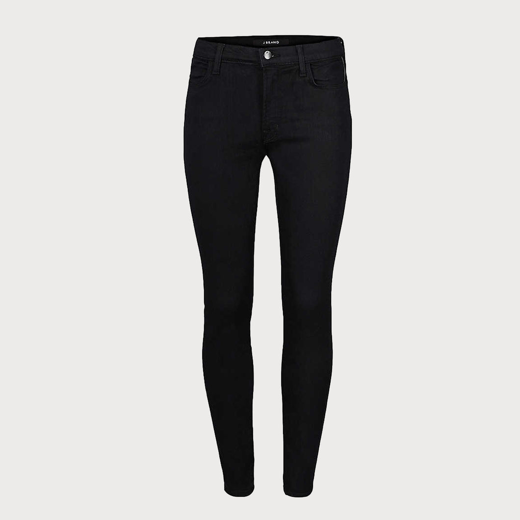 J BRAND Maria High Rise Jean in Seriously Black