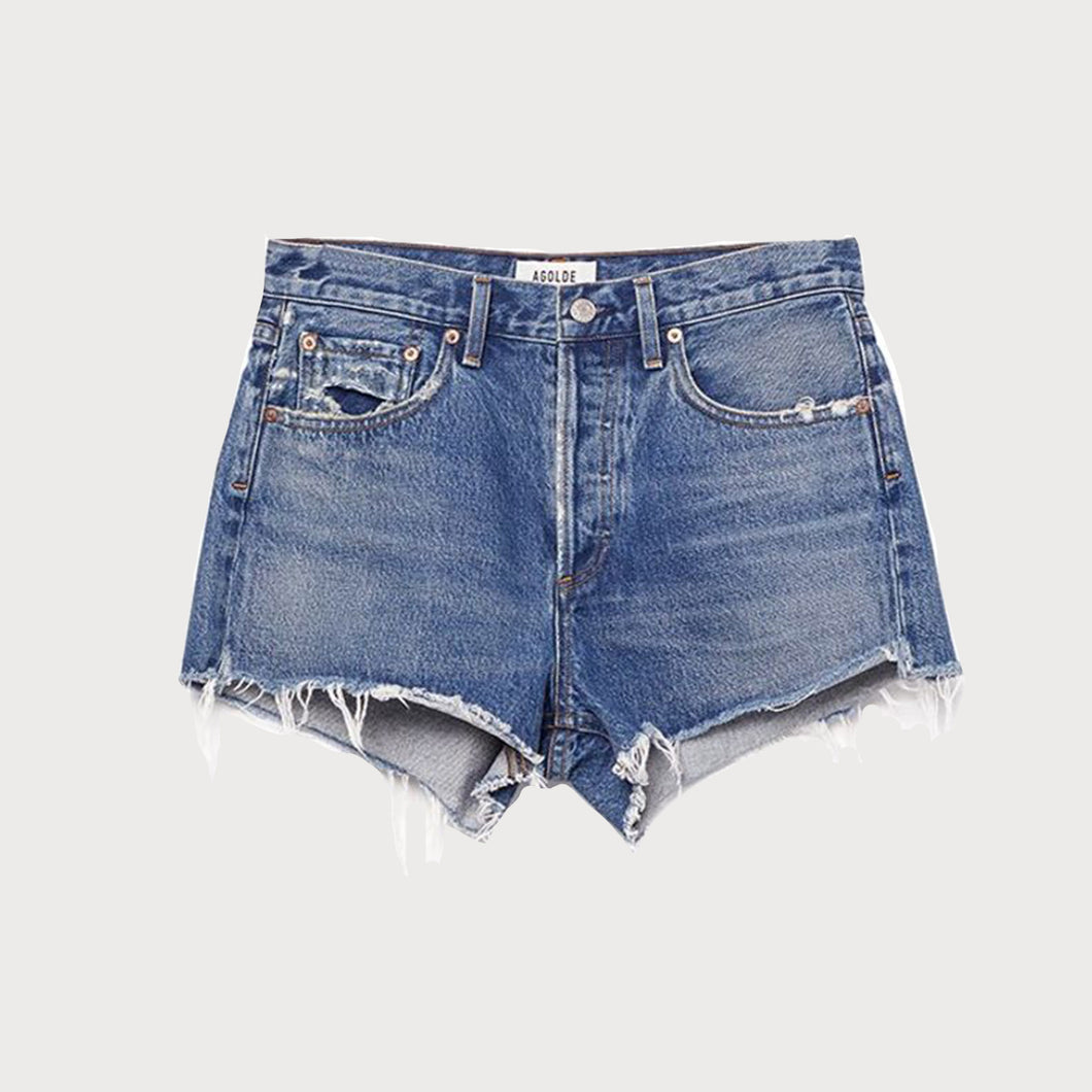 AGOLDE A026 PARKER Short-DENIM