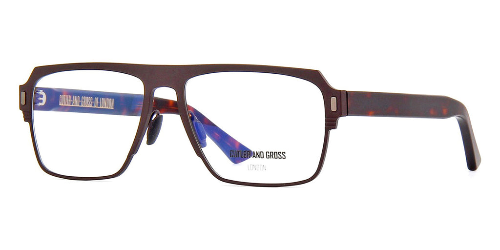 Cutler and Gross 1364 02 Matte Brown Titanium
