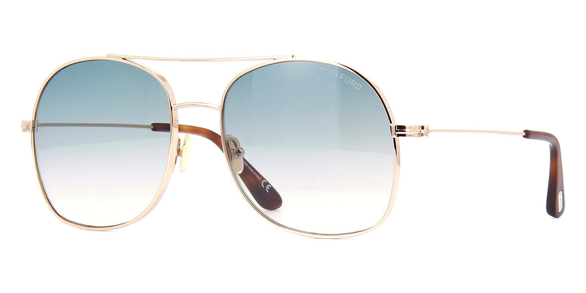 Details about  /Brand New Authentic Tom Ford Sunglasses FT TF 0758 01F TF758-D Delilah-02 60mm