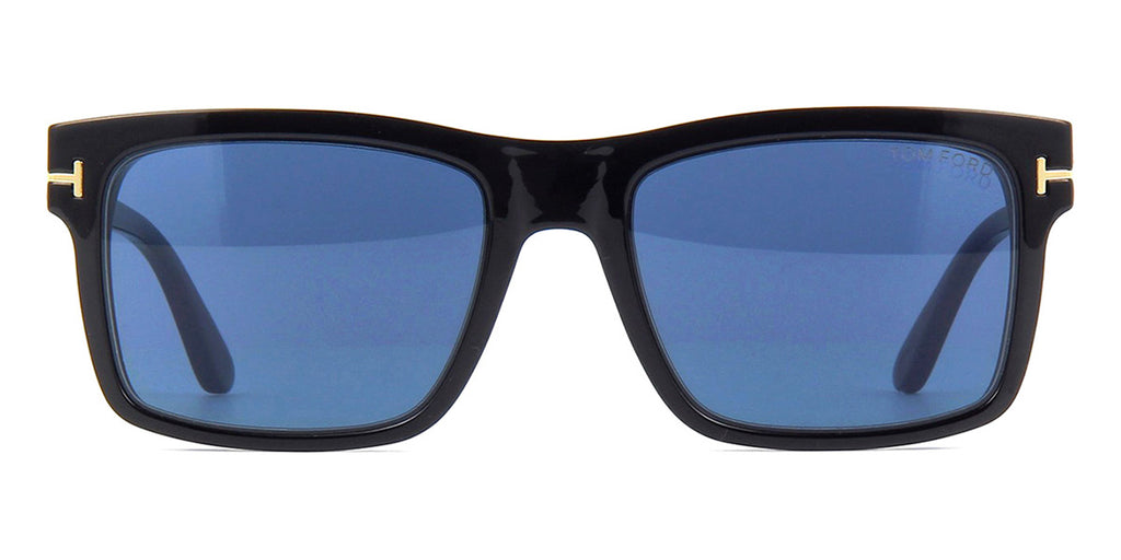 tom ford tf5682 b 001 blue control with magnetic clip on