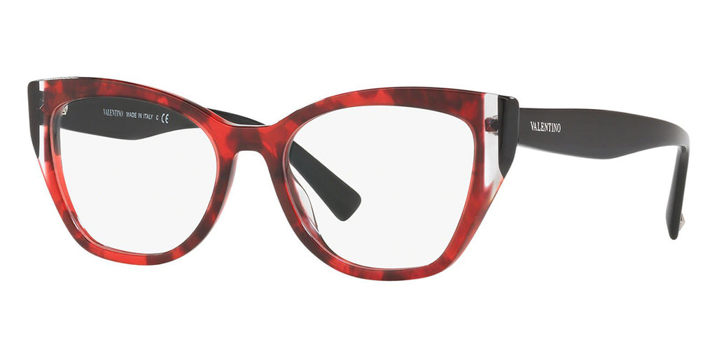 valentino va3029 5020 red havana and black
