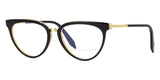 victoria beckham combination kitten vbopt207 c02 black on light horn