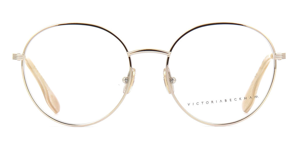 victoria beckham metal grooved vb228 715 light gold