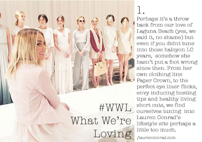 #WWL This Week Lauren Conrad