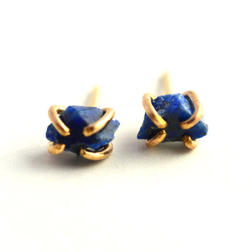 sterling mm earrings blue lapis lazuli studs products silver in stud