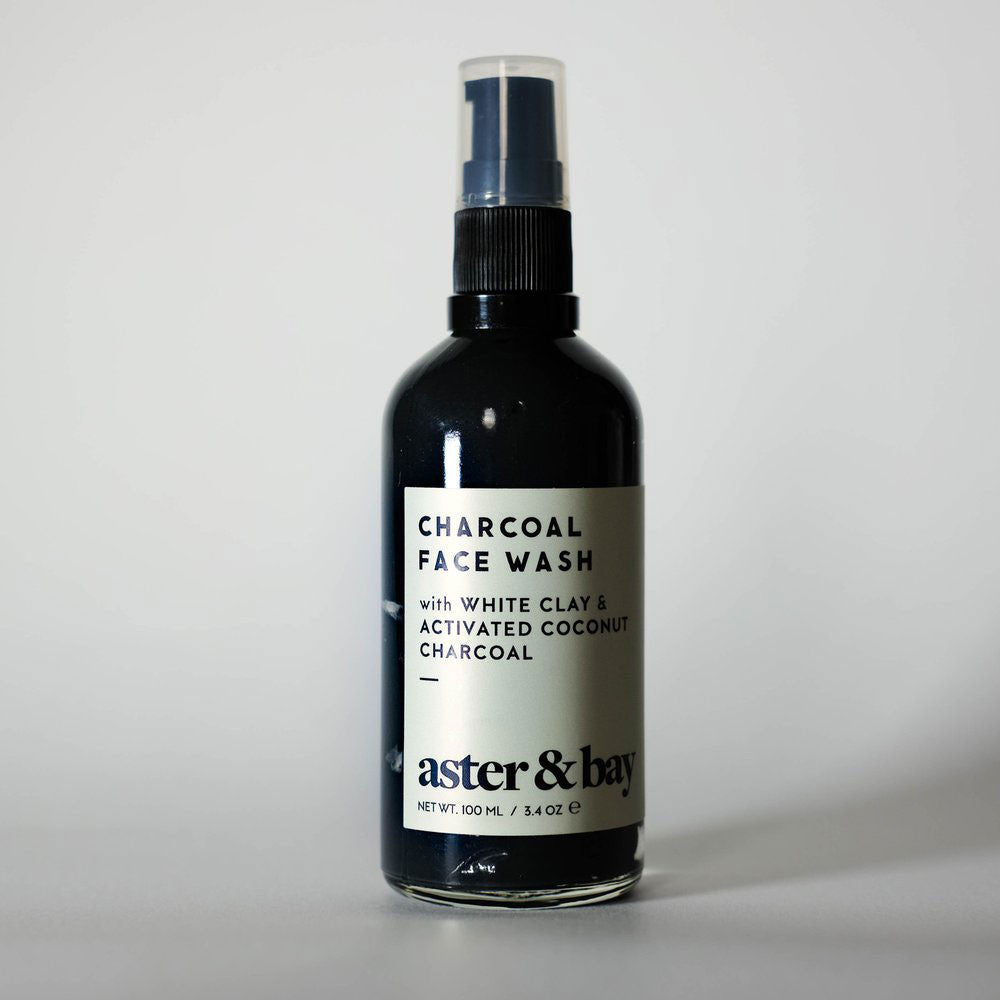 Aster + Bay Charcoal Face Wash - RedRubyRougeBoutique