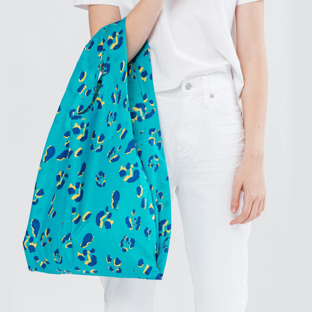 Baggu Classic in Aqua Animal - RedRubyRougeBoutique