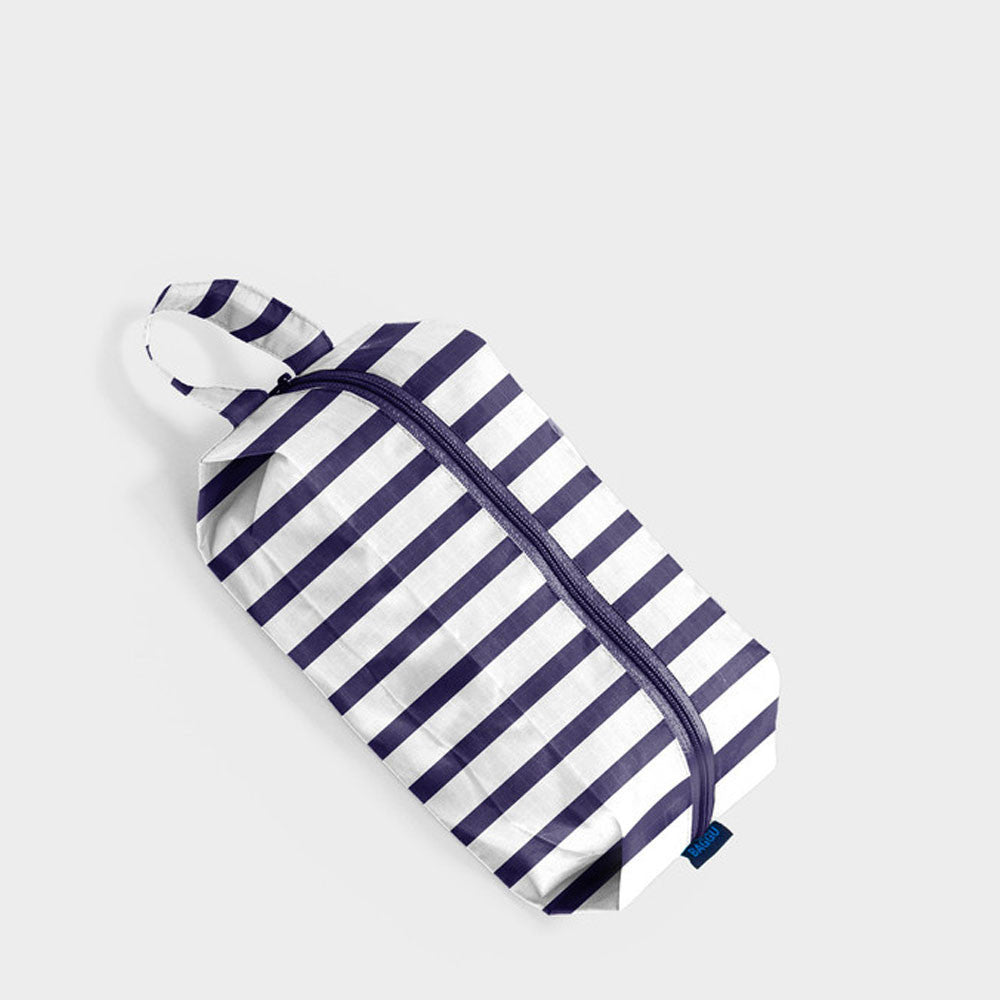 Baggu Sailor Stripe Small Zip Bag - RedRubyRougeBoutique