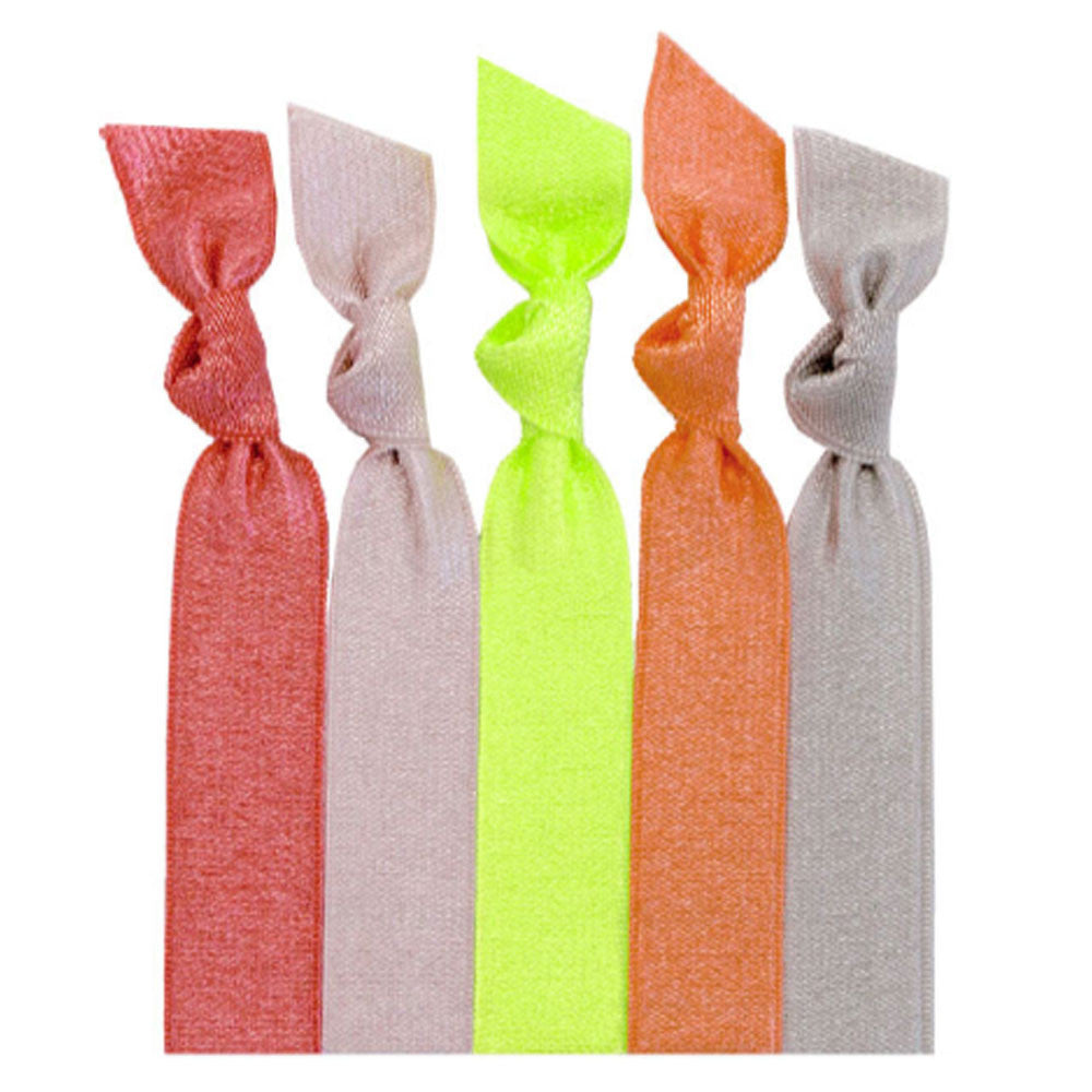 Emi Jay Lucy Solid Ribbon Print Hair Ties ... 20d06849070