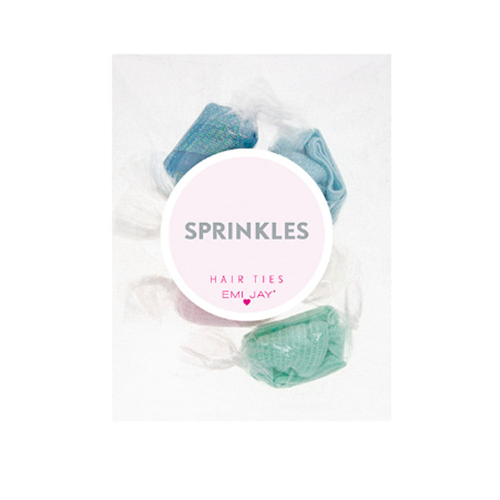 Emi Jay Sprinkles 5 Pack Hair Tie Gift Set - RedRubyRougeBoutique