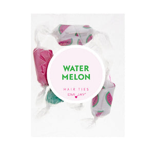 Emi Jay Watermelon 5 Pack Hair Tie Gift Set - RedRubyRougeBoutique