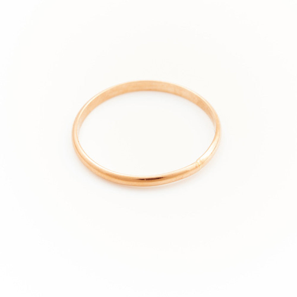 Glam Rocks Simple Layering Ring - RedRubyRougeBoutique