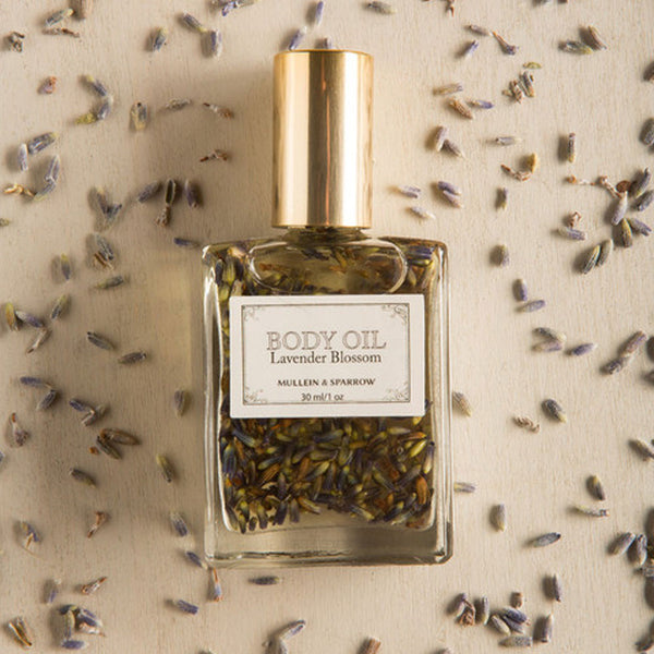 Lavender Blossom Body Oil from Mullein & Sparrow - RedRubyRougeBoutique