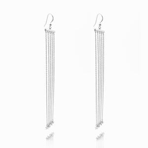 Swarovski® Silver Statement Earrings