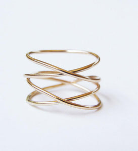 Friedasophie Infinity Wrap Ring - RedRubyRougeBoutique
