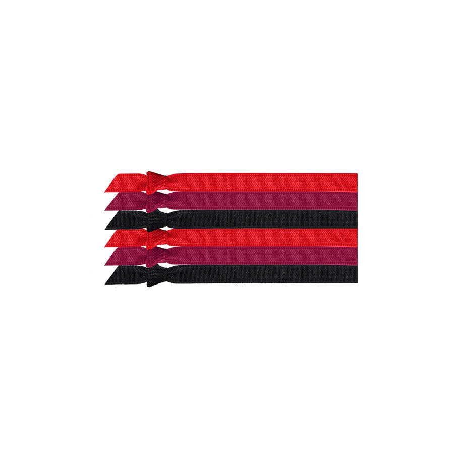 Emi Jay Ruby Tuesday Hair Ties - 6 pack - RedRubyRougeBoutique