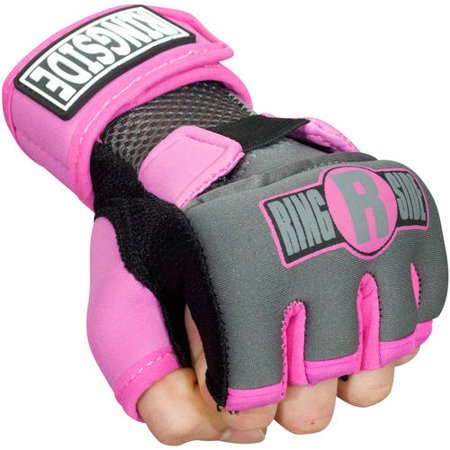 Ringside Gel Wraps Medium Pink / Black