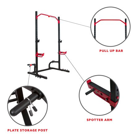 Sunny Health & Fitness Power Zone Squat Stand, SF-XF9931